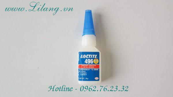 Keo Dan Loctite 496